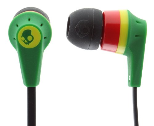 Skullcandy S2IKDY-003-Ink'd 2.0 Earbud Headphones with Mic (Bob Marley)  available at amazon for Rs.545