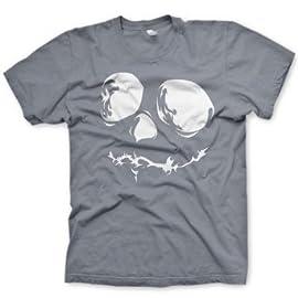 MENS PREMIUM PRINTED T SHIRT Skull Face