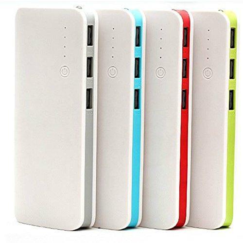 Telecomusers @50000mah Externer Akku, tragbar, 3 Port Power Bank Ladegerät für Samsung Handys