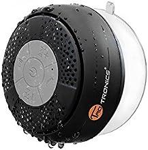 Altavoz Bluetooth Ducha Impermeable TaoTronics (con ventosa que se adhiere fácilmente a superficies lisas) - Negro TT-SK03