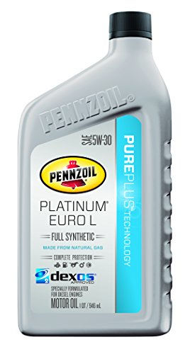 Pennzoil 550042833 6pk platinum euro l full synthetic for Pennzoil 5w 30 synthetic motor oil