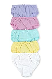 5 Pack Pure Cotton Assorted Stretch Briefs