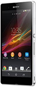 Sony Xperia Z C6602 Unlocked Phone with 5 inch HD Display and 1.5GHz Quad-Core Processor--U.S. Warranty (White)