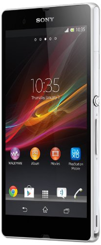 Get Sony Xperia Z C6602 Unlocked Phone with 5 inch HD Display and 1.5GHz Quad-Core Processor–U.S. Warranty (White) (online)