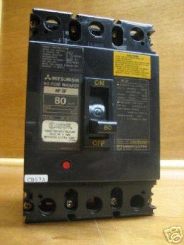 Mitsubishi Breaker Nf-Sf2080 Nf Sf 80 Amp 80Amp 80A A