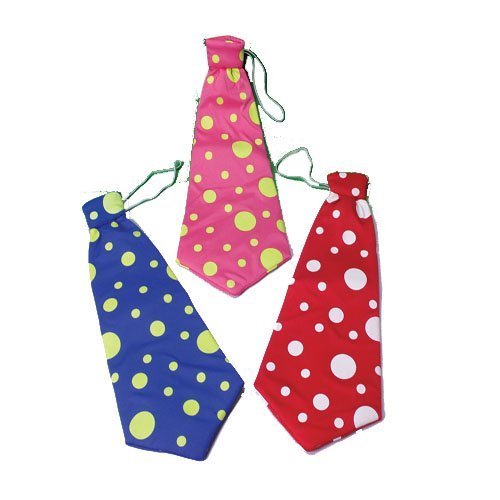 One Clown Long Tie (Color May Vary)