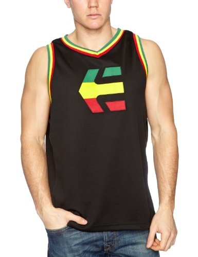 Etnies Busta Tank Men's Vest Black/Red Medium