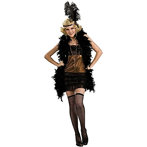 Adult Charleston Honey Flapper Costume - Medium