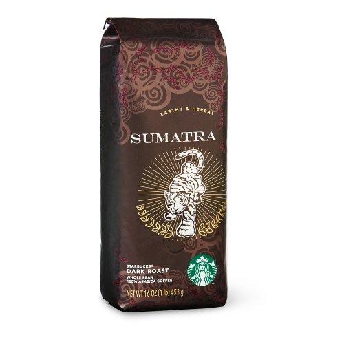 Starbucks Sumatra, Whole Bean Coffee (1lb) (Whole Bean Coffee 1lb compare prices)