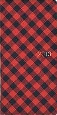 ほぼ日手帳 2013年4月始まり WEEKSspring ギンガム赤