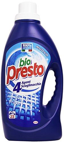 bio-presto-detersivo-4-agenti-scioglimacchia-23-lavaggi-1518-ml