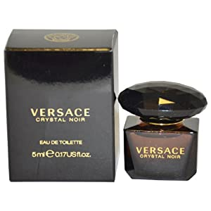 Versace Crystal Noir by Versace for Women Eau De Toilette Splash , 5 ml