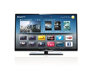 """Philips 32"""" 32PFL3208T HD Ready Smart (WiFi Ready) LED TV with FreeView (New for 2013)"""