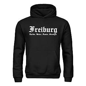 dress-puntos Kinder Kapuzensweatshirt Freiburg Harder, Better, Faster, Stronger 20drpt15-kh00062