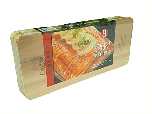 Lowest Prices! Coastal Cuisine Large Cedar Grilling/Barbecue Planks Set of 8