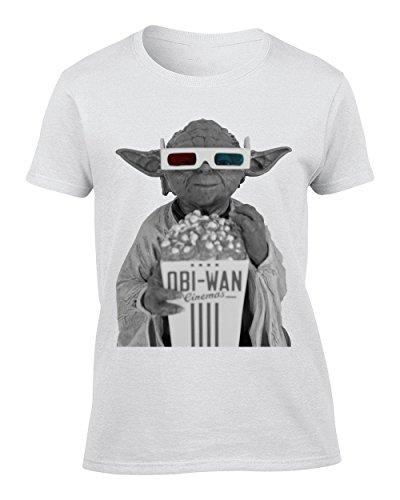 Obiwan Star Wars 3D Glasses - Small Donna T-Shirt