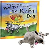 Set of Walter The Farting Dog Book and Toy