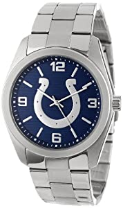 Game Time Unisex NFL-ELI-IND Elite Indianapolis Colts 3-Hand Analog Watch by Game Time