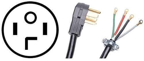 DRYER CORD 30a/6'/4w/C- Case Pack 2