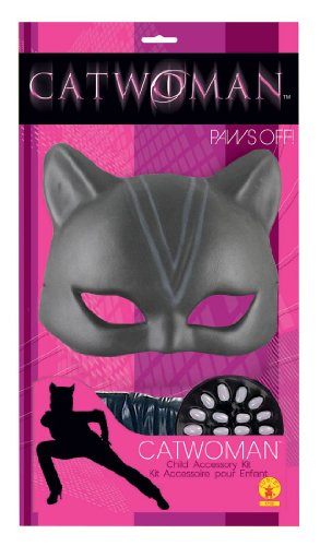 Girls Catwoman Costume Kit