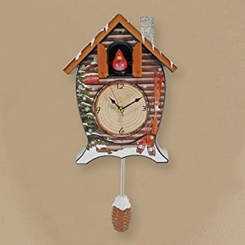 #!Cheap Mark Feldstein & Associates, Inc Ckwc Cuckoo Clock Snowy Cabin