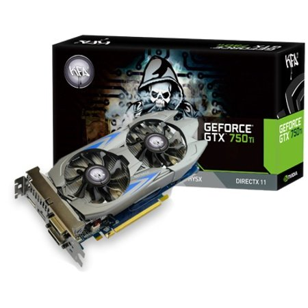 GALAXY GF PGTX750TI-OC/2GD5 GeForce GTX 750Ti搭載グラフィックスボード