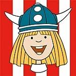 Wickie Comic Wikinger Servietten Kind...