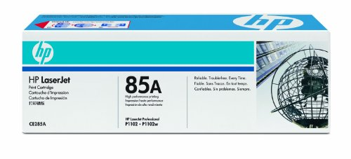 HP 85A LaserJet Black Toner Print Cartridge -