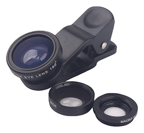 Easy-Life-Innovations-3IN1CL-Cell-Phone-Lens-Kit-Best-Camera-Universal-Clip-on-3-in-1-Lens-Pack-Fish-EyeMacroWide-Angle-for-iPhone-IPod-Touch-4Samsung-Galaxy-S6S5