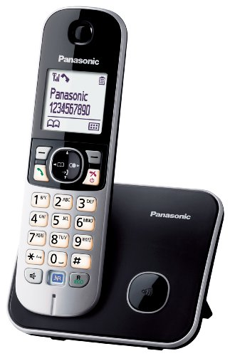 Details for Panasonic KX-TG6811GB DECT-Schnurlostelefon (4,6 cm (1,8 Zoll) Grafik-Display) schwarz