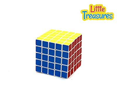 Brain Teaser 5x5x5 Twist & Turn Puzzle Game Cube for Experienced Players