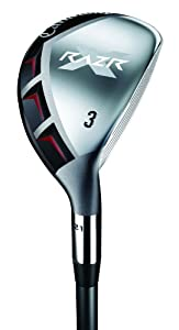 Callaway Men's RAZR X Hybrids (Right-Handed, 24 Degree Loft, Graphite, Regular Shaft)
