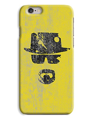 Yellow Heisenburg - Walter White Breaking Bad 3D Printed Design iPhone 6 Hard Case Protective Cover Shell