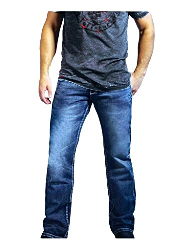 B. Tuff Western Jeans Mens Sharp Denim Bootcut 32 Reg Light MSLIGH (Jean Sharp compare prices)