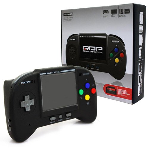 BLACK RetroDuo Portable System [RETROBIT]