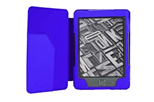 MoKo Cover Case for Amazon Kindle Touch, BLUE