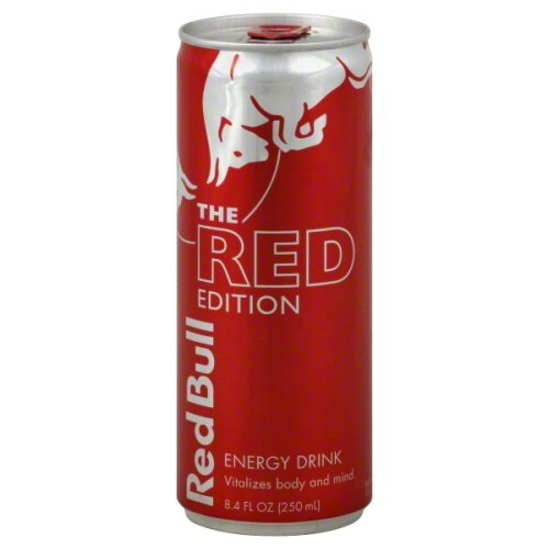 Red Bull The Red Edition Energy Drink (611269357011)