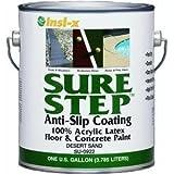 Insl-X Anti-Slip Coating Acrylic Exterior, Interior Desert Sand 1 Gl
