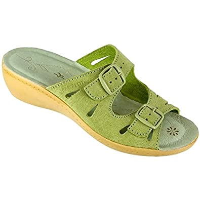 Fly Flot Lucy - Green Size 10 UK