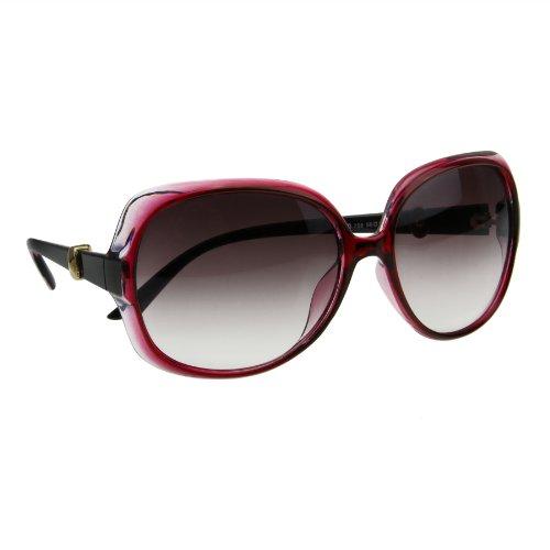 BXT® Frauen Damen Runddes Bilderrahmen Barock Retro Sonnenbrille UV400 100% Schutz