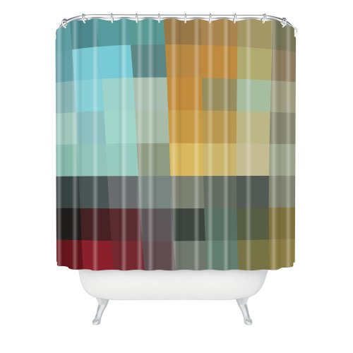 Deny Designs Madart Refreshing 2 Shower Curtain 69 Inch By 72 Inch Shower Curtains Outlet