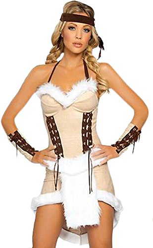Ace Halloween Adult Women's Sexy Indian Tribes Costumes