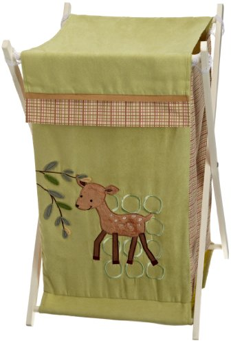 Sale!! Lambs and Ivy Enchanted Forest Hamper, Green