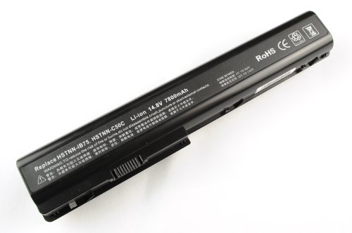 ATC 7800mAh 12 cell Replacement Battery For HP DV7-1135NR,DV7-1137US,DV7-1243CL DV7-1245CA DV7-1245D,DV7-1243CL DV7-1245CA DV7-1245D,DV7,DV7-2000,KS525AA,480385-001,DV7-1228 DV7-1228CA DV7-1232NR,HDX18 ,497705-001 HSTNN-C50C,464059-141,dv 7,DV7-1128EZ DV7