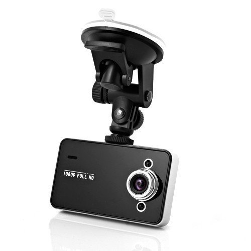 K6000 Vehicle DVR Car Recorder DVR Road Dash Video Camera Recorder Traffic Dashboard with 2.7 Inch LPS Screen Full HD 1080P Night Vision 140 Degree A+ Wide Angle