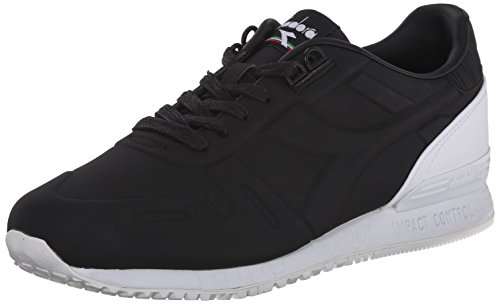 Diadora Men's Titan N Fashion Running Shoe, Black, 7.5 M US