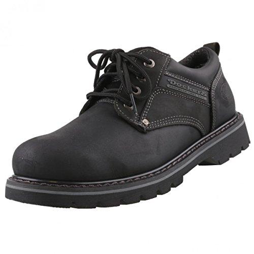 Dockers by Gerli Herrenschuhe Halbschuhe - Vier Farben, Schuhgröße:EUR 45;Farbe:Schwarztöne