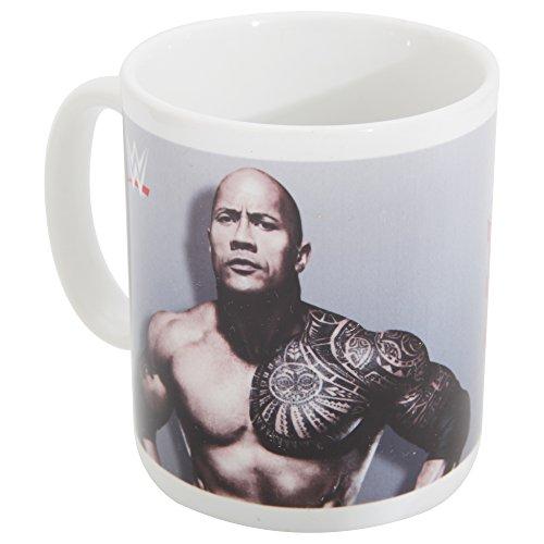 WWE - Tazza di ceramica The Rock Star del Wrestling (Taglia unica) (Grigio/Bianco)