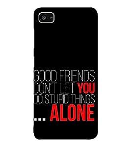 EPICCASE good friends Mobile Back Case Cover For Lenovo ZUK Z2 (Designer Case)