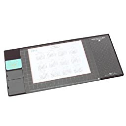 Chris-Wang Multi-use Protective Big Office Desk Mat /Mouse Pad/Table Organizer/Desk Protector/Card Schedule Pockets for Desktops And Laptops, 27.5\
